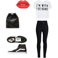Untitled #4 by luluheiz on Polyvore featuring polyvore fashion style Rodarte Vans 3.1 Phillip Lim Lime Crime