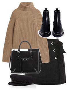 """Untitled #5470"" by theeuropeancloset on Polyvore featuring Topshop, Alexander Wang, Balenciaga and Eugenia Kim"