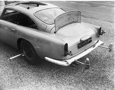 Aston Martin lets James Bond fans live out their secret spy fantasies – Famous Magazine James Bond Cars, James Bond Movies, Aston Martin Db5, James Bond Gadgets, Detective, Famous Movie Cars, Film Cars, Smoke Screen, Car Gadgets