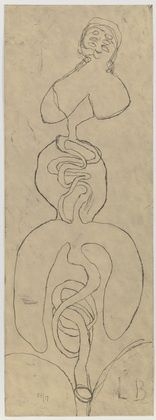 Louise Bourgeois, Starvingfatartist.