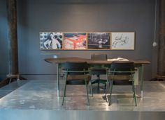 Vitra & G-Star RAW Launch Prouvé RAW Office Edition