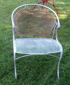 How to Paint Wrought Iron - Before