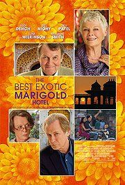 The Best Exotic Marigold Hotel. Good enough to watch twice...which I actually did, being stuck in bed with a sinus infection. The cast is magnificent, the plot is sufficient, and it comes out well for everyone in the end.