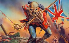 cool The Trooper - Iron Maiden wallpaper