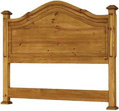 Hang your royal toga on this Roma headboard and you can be quickly attired for almost any occasion!  The hand made solid pine construction will give you years of service, and the golden glow of the rich honey colored stain will brighten your bed chamber. Rustic southwestern furniture goes well with most other casual decor.