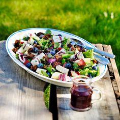 Mustikkainen salaatti   K-ruoka