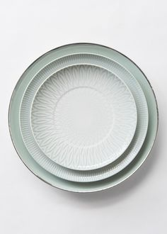 The sophistication of the forms and the platinum decoration contrast with the delicacy of the color & EVA Plates - Nordic House Stylish dinner sets perfect for any gift ...