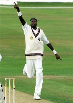 Curtly Ambrose, bowler, West Indies