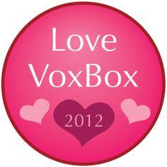 Special Love VoxBox Badge.  My first VoxBox!