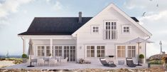 Ski Chalet, Home Fashion, Home Renovation, The Hamptons, Facade, House Plans, House Ideas, Villa, Farmhouse