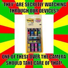 Secretly Watching.
