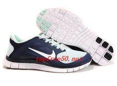 reputable site 3c0de a55ef Cheap Nike Air Max, Nike Free Run Online Shop Womens Nike Free Blackened  Blue White Fiberglass Shoes  Nike Free 2014 -