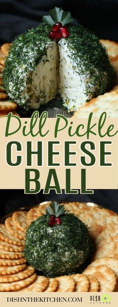 Dill Pickle Cheese Ball - This Dill Pickle Cheese Ball is an easy appetizer tha. - Dill Pickle Cheese Ball – This Dill Pickle Cheese Ball is an easy appetizer that comes together - Cheese Ball Recipes, Appetizer Recipes, Dessert Recipes, Appetizer Ideas, Cheese Appetizers, Party Desserts, Dinner Recipes, Hot Chocolate Fudge, Brunch