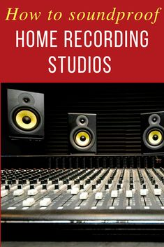 Soundproofing a room for music recording is a massive project. It is financially demanding, physically demanding and even mentally demanding. Vocal Recording Studio, Recording Studio Design, Studio Soundproofing, Soundproof Windows, Bass Trap, Drum Room, Home Studio Music, Recorder Music, Studio Room