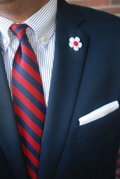 Without the lapel flower = Average. With the lapel flower = Dappertastic