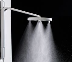 This sexy showerhead uses 70% less water than standard fixtures