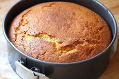 BIZCOCHO DE GARBANZOS-9 Light Recipes, Clean Recipes, Real Food Recipes, Gluten Free Coffee Cake, Gluten Free Cakes, Crazy Cakes, Sin Gluten, Cornbread, Vegan Vegetarian
