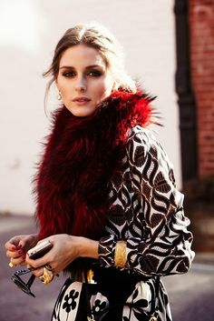 Olivia Palermo for Vogue Spain