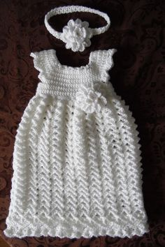 Infant White Dress Extra Long Length Handmade by StonehouseGals