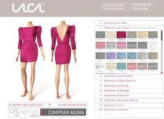 Crie seu vestido perfeito!