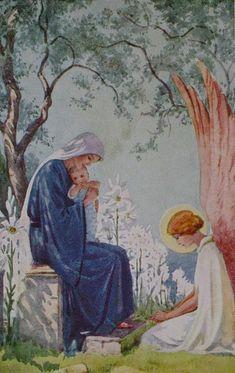 Illustrations de Margaret W- Tarrant. -Jésus révèle à une âme mystique Justine Klotz Cette prière,♥ Jésus, Marie, Joseph je vous aime. Sauvez les âmes des prêtres; sauvez les âmes. Nous vous en supplions ardemment: que nous puissions répéter cet Acte d'Amour mille fois à chaque respiration, à chaque battement de cœur.