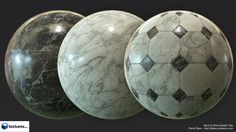"Marble Substances made for ""Textures.Com"" Done in Designer."