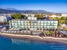 Here we are ! A panoramic view of #H2O and Kos Aktis Hotel. Photo credits: Emmanuel Christodoulides, thank you for sharing! #kos #kosisland #summertime