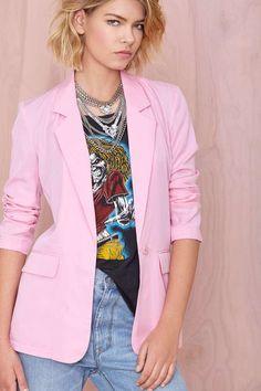 Trina Blazer | Shop Sale at Nasty Gal
