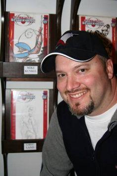 MIKE KUNKEL ANIMATOR / COMIC BOOK ARTIST