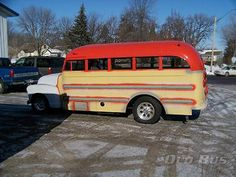 1952 Superior Chevy Hot Rod Bus