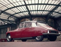 1955 Citroën DS  I put cars as beauty, because in a way, cars are beautiful. every single one is different