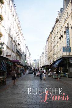 Rue Cler. Paris.