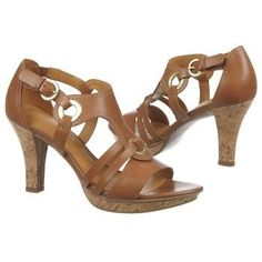 Naturalizer Dalena Saddle Tan Leather - These look awesome and are comfortable! Love these sandals from Naturalizer Dress Sandals, Gladiator Sandals, Leather Sandals, Dress Shoes, Casual Work Outfits, Work Casual, Teacher Shoes, Shoe Boots, Shoe Bag