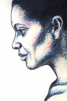 """""""2D or Not 2D"""" :: Turning Models' Faces Into 2D Images 