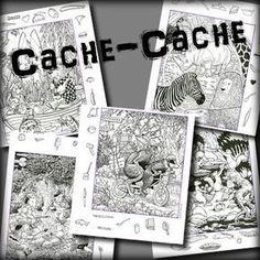 Je republie aujourd'hui les fameux fichiers «cache-cache» (4 fichiers de 12 dessins) que j'avais remis en forme il y a 4 ans déjà. Utilisables en cycle 2 et 3, ces fichiers permettent…