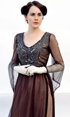 Downton Abbey's Best Fashion Moments - Lady Mary Crawley from InStyle.com