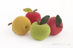 kokokoKIDS: Вязаные овощи by ko-ko-ko