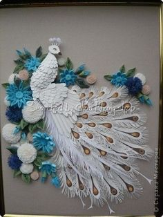 stranamasterov.ru - Quilled peacocks (Searched by Châu Khang):