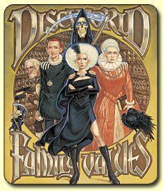 Discworld Family Values Mousemat. I love Terry Pratchett's books.