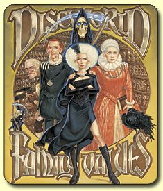 Discworld Family Values Mousemat. I love Terry Pratchett's books.