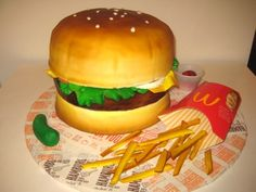 Hamburger Cake 5
