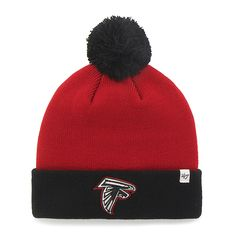 separation shoes ae6bb 10d43 Atlanta Falcons Bounder Cuff Knit Red 47 Brand Hat