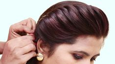 Easy Party Hairstyle 2019 For Girls Hair Style Girl Hairstyles Best Hairstyles For Long Hair Easy Party Hairstyles, Indian Hairstyles, Everyday Hairstyles, Easy Hairstyles, Girl Hairstyles, Wedding Hairstyles, Latest Hairstyles, Simple Hairstyles For Medium Hair, Braided Bun Hairstyles