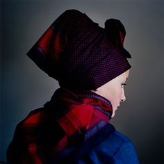 young danish woman in traditional costume.  From a series of photographs by Trine Søndergaard.