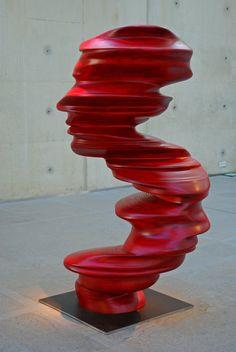 Sculpture by Tony Cragg, Museum Beelden aan Zee, The Hague, the Netherlands