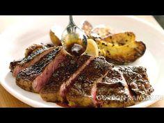 стейк с картофелем и грибами от Гордона Рамзи