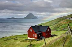 bathorynordland:  landyscape:  Velbastaour, Faroe Islands (by **Anik Messier**)  Can this be my future home?