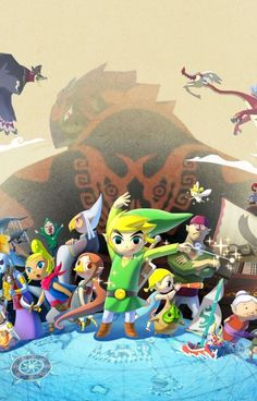 345 Best The Legend Of Zelda: The Wind Waker HD images in 2019