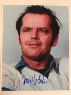 1976 - JACK NICHOLSON - Best Actor in a Leading Role - ONE FLEW OVER THE CUCKOO'S NEST