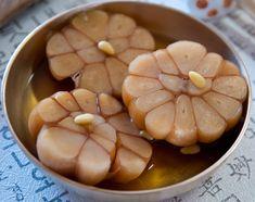 Garlic Recipes, Asian Recipes, Healthy Cooking, Cooking Recipes, Pickled Garlic, Garlic Bulb, Korean Food, Chefs, Recipes